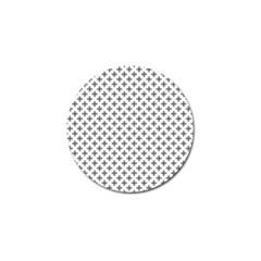 Black Cross Golf Ball Marker (10 Pack)
