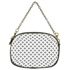 Black Cross Chain Purses (two Sides)
