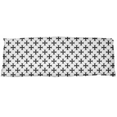 Black Cross Body Pillow Case (dakimakura)