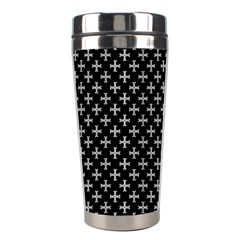 White Cross Stainless Steel Travel Tumblers
