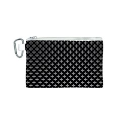 White Cross Canvas Cosmetic Bag (s)
