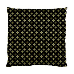 Yellow Cross Standard Cushion Case (two Sides)