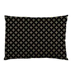 Yellow Cross Pillow Case