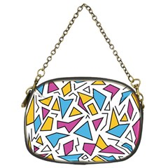 Retro Shapes 01 Chain Purses (two Sides)