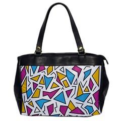 Retro Shapes 01 Office Handbags