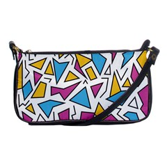 Retro Shapes 01 Shoulder Clutch Bags