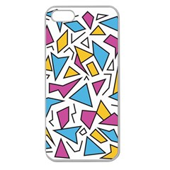 Retro Shapes 01 Apple Seamless Iphone 5 Case (clear)