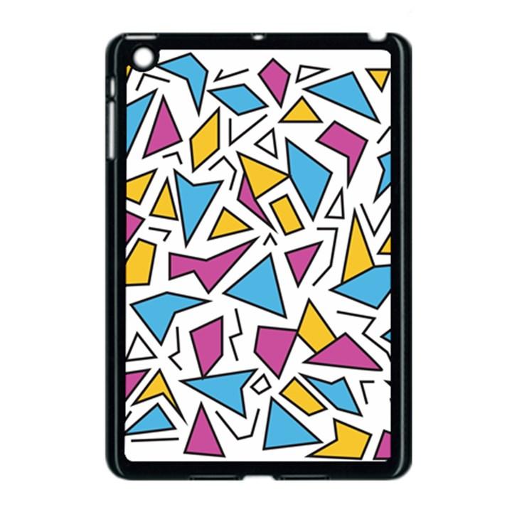 Retro Shapes 01 Apple iPad Mini Case (Black)