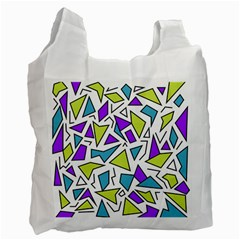 Retro Shapes 02 Recycle Bag (two Side)