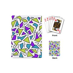 Retro Shapes 02 Playing Cards (mini)