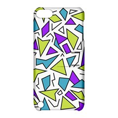 Retro Shapes 02 Apple Ipod Touch 5 Hardshell Case With Stand
