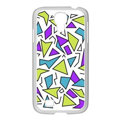 Retro Shapes 02 Samsung Galaxy S4 I9500/ I9505 Case (white)