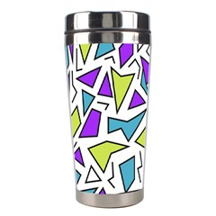 Retro Shapes 02 Stainless Steel Travel Tumblers
