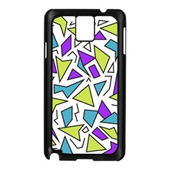 Retro Shapes 02 Samsung Galaxy Note 3 N9005 Case (black)