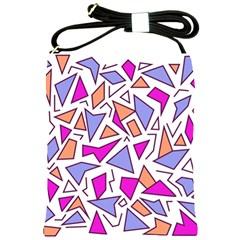 Retro Shapes 03 Shoulder Sling Bags