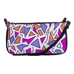 Retro Shapes 03 Shoulder Clutch Bags