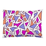 Retro Shapes 03 Pillow Case (Two Sides) Front