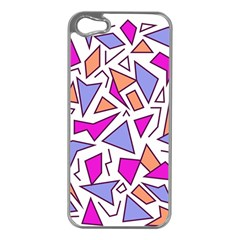 Retro Shapes 03 Apple Iphone 5 Case (silver)