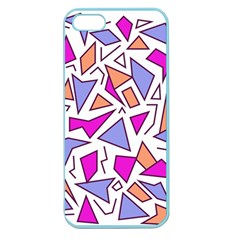 Retro Shapes 03 Apple Seamless Iphone 5 Case (color)