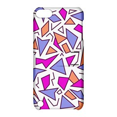 Retro Shapes 03 Apple Ipod Touch 5 Hardshell Case With Stand