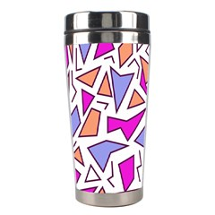 Retro Shapes 03 Stainless Steel Travel Tumblers