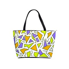 Retro Shapes 04 Shoulder Handbags