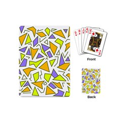 Retro Shapes 04 Playing Cards (mini)