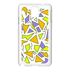 Retro Shapes 04 Samsung Galaxy Note 3 N9005 Case (white)