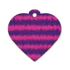 Cheshire Cat 01 Dog Tag Heart (one Side)