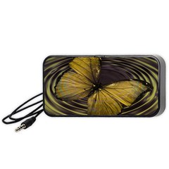 Butterfly Insect Wave Concentric Portable Speaker