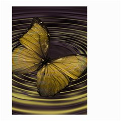 Butterfly Insect Wave Concentric Small Garden Flag (two Sides)