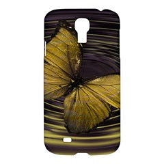 Butterfly Insect Wave Concentric Samsung Galaxy S4 I9500/i9505 Hardshell Case