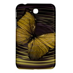 Butterfly Insect Wave Concentric Samsung Galaxy Tab 3 (7 ) P3200 Hardshell Case