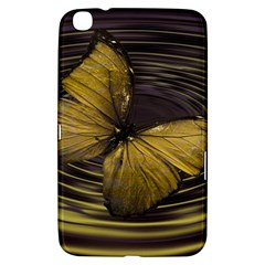 Butterfly Insect Wave Concentric Samsung Galaxy Tab 3 (8 ) T3100 Hardshell Case