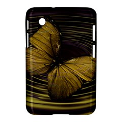 Butterfly Insect Wave Concentric Samsung Galaxy Tab 2 (7 ) P3100 Hardshell Case