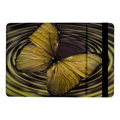 Butterfly Insect Wave Concentric Samsung Galaxy Tab Pro 10 1  Flip Case