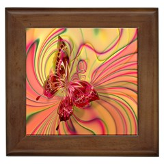 Arrangement Butterfly Aesthetics Framed Tiles