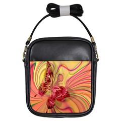Arrangement Butterfly Aesthetics Girls Sling Bags