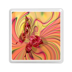 Arrangement Butterfly Aesthetics Memory Card Reader (square)