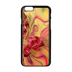 Arrangement Butterfly Aesthetics Apple Iphone 6/6s Black Enamel Case