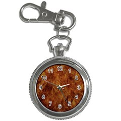 Abstract Flames Fire Hot Key Chain Watches
