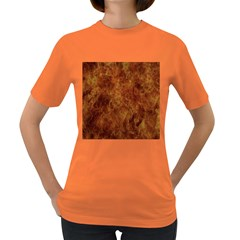 Abstract Flames Fire Hot Women s Dark T Shirt