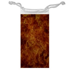 Abstract Flames Fire Hot Jewelry Bag