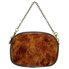 Abstract Flames Fire Hot Chain Purses (two Sides)