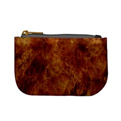 Abstract Flames Fire Hot Mini Coin Purses