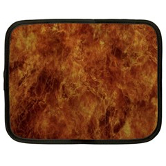 Abstract Flames Fire Hot Netbook Case (xxl)