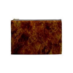 Abstract Flames Fire Hot Cosmetic Bag (medium)