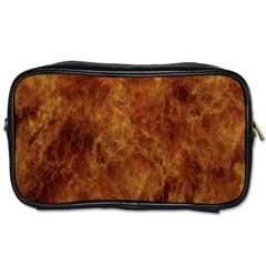 Abstract Flames Fire Hot Toiletries Bags 2 Side