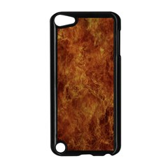 Abstract Flames Fire Hot Apple Ipod Touch 5 Case (black)