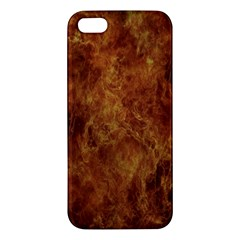 Abstract Flames Fire Hot Apple Iphone 5 Premium Hardshell Case